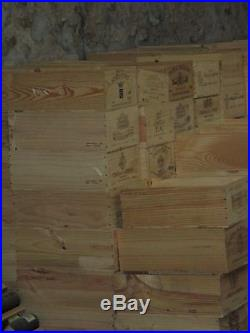 100 trade pallet wine boxes wine crates job lot wooden french crates wine box