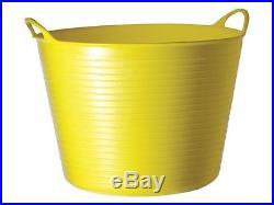100x Gorilla Tubs Plastic Work Trugs Large 38L Builders Buckets