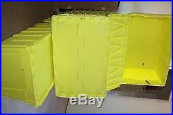 12x80L Large Strong Storage Crate Plastic Removal, Garage Box