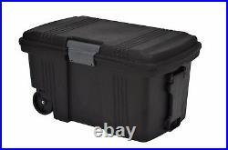 165 Litre Mobile Contico Padlockable Plastic Storage Tack Tool Trunk Trailer Box