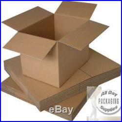 200 LARGE BROWN CARDBOARD PACKAGING BOXES SIZE 24 X 18 X 18 STORAGE PACKING