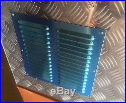 30L Five Bar Aluminum Generator Box Trailer Caravan Vent 2.5mm Storage withLock