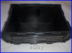 30 New Large House Removal Plastic Storage Crates Boxes Containers 80 Litre