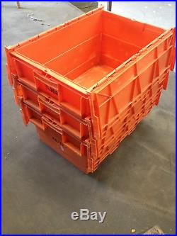 30 Large Plastic Storage Boxes Tote Boxes Containers Car