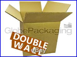 40 X-LARGE DOUBLE WALL CARTONS BOXES 24x18x18 REMOVALS