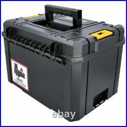 4 x Dewalt DWST1-71195 T-Stak VI Deep Tool Storage Box 23L Without Tote Tray