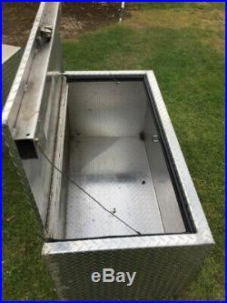 4ft Large Aluminium truck Jockey Storage box
