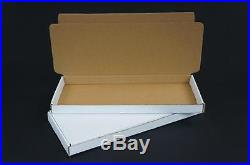 500 Postal Cardboard Boxes Mailing Shipping Cartons Large Letter 300x130x20 AP14