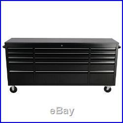 55'' 72'' 10/15 Drawers Mobile Tool Chest Workshop Storage Box Cabinet Garage