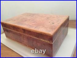AP Audemars Piguet Large Wooden Vintage Watch Box Presentation Storage Case