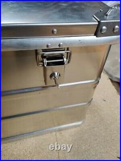 Alubox S163 163 Litre Aluminium Large Storage Box Chest for bike rack mounting