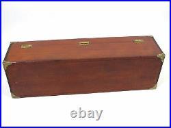 Antique/Vintage 1920's Large Wooden Carpenters Tool Storage Box