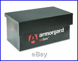 Armorgard OxBox OX05 Secure Van Vault Safe Box 810x478x380mm Tool Storage Chest