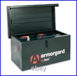 Armorgard OxBox OX05 Secure Van Vault Storage Safe Box 810x478x380mm Tool Chest