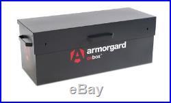 Armorgard OxBox OX2 Secure Truck Van Vault Storage Safe Box 1215x490x450mm