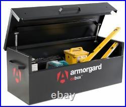 Armorgard OxBox OX2 Secure Van Vault Storage Safe Box 1215x490x450mm Tool Chest