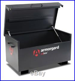 Armorgard OxBox OX3 Site Secure Box Storage Safe Store 1200x665x630mm Tool Chest