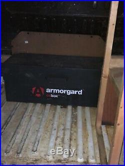 Armorgard OxBox Secure Van pickup truck Vault Site Storage Safe Box large Ox4