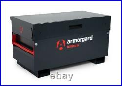 Armorgard TuffBank TB2 Secure Site Vault Steel Storage Safe Box 1150x615x640