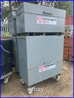 Armorgard Tuffbank Van Vault Storage Tool Box LARGE