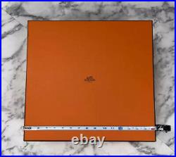 BRAND NEW Authentic Hermes XL Birkin 35 Storage Gift Box + Tissue 16 x 15.5 x 9
