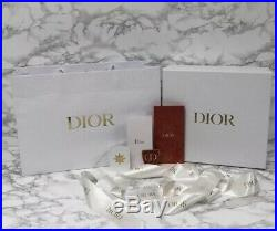 BRAND NEW MINT Authentic Dior Purse Storage Box Gift Set + Extras 12 x 11.25 x 4