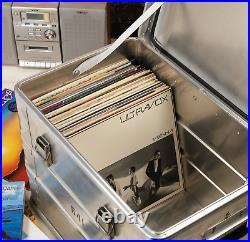Betra Army Aluminium Flight Metal Storage Case record tool DJ box large BE1