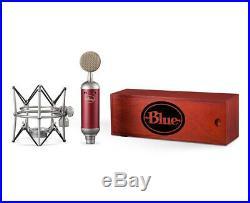 Blue Spark SL Large-Diaphragm Studio Condenser Mic with Shockmount & Storage Box