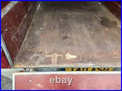 Brenderup Box Car Trailer with large Covered storage area