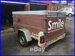 Brenderup Box Trailer with large storage area