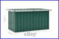 Cabinet Outdoor Garden Storage Plastic Box Galvanised Steel & Plastic NEW