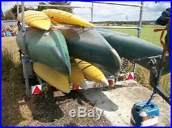 Canoe Trailer / Kayak / large capacity/ with storage box