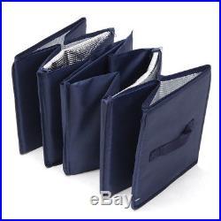 Car Boot Organiser Shopping Tidy Foldable Storage Box Heavy Bag Travel Large Box