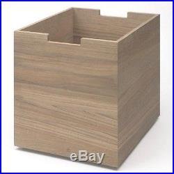 Cutter Box Large with wheels oak