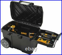DEWALT Rolling Job Box Portable Tool Organizer Storage Toolbox Waterproof Bin
