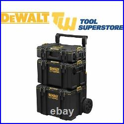 DeWalt Toughsystem 2.0 DS450 Mobile Trolley Tool Storage Box DS400 + DS166 Kit