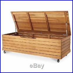 Strange Denia Wooden Garden Storage Box Wood Shed Outdoor Cushion Inzonedesignstudio Interior Chair Design Inzonedesignstudiocom