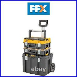 Dewalt DWST83411-1 TSTAK 2.0 Mobile Rolling Trolley Tool Storage Box Tote Tray