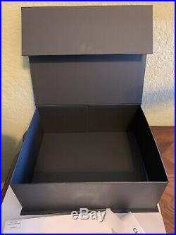 EUC Empty Chanel Magnetic Handbag Storage/Gift Box 13 X 10.5 x 5 Care Card