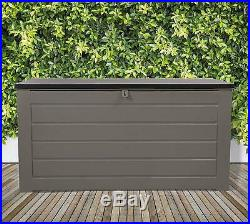 Extra Large 680L Outdoor Garden Storage Box Plastic Utility Chest Waterproof