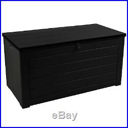 Extra Large 830L Outdoor Garden Storage Box Plastic Utility Chest Waterproof