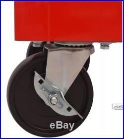 Extra Large Metal Tools Box Cabinet Wheeled Workshop Trolley Storage Garage New