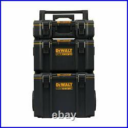 Extra Large Tool Box Dewalt Toughsystem 2 Rolling 3Pc Mobile Storage Box Trolley