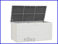 Extra Large Utility Storage Box Container Outdoor Garden Patio Shed Lockable New