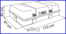 FIAMMA ULTRA BOX 3 TOP LARGE ROOF STORAGE BOX Caravan Motorhome 02085-01 F