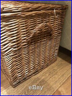Fortnum and Mason large picnic hamper basket coffee table storage box large BNwt