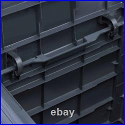 Garden Outdoor Storage Plastic Box Utility Chest Cushion Shed Box Waterproof New