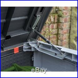 Garden Patio Outdoor Standard Wheelie Bins Plastic Storage Box Container Shed