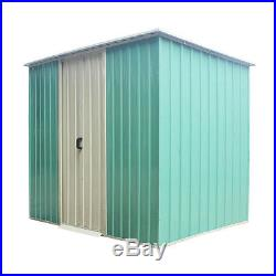 Garden Shed Storage Large Yard Store Building Tool Box Container Door Metal Roof