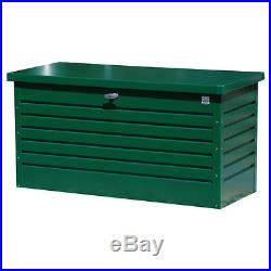 Garden Storage Box Metal Large Outdoor Container Tools Bikes Toys Furniture Pots